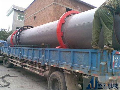 砂石烘干机发往贵州黔南客户现场