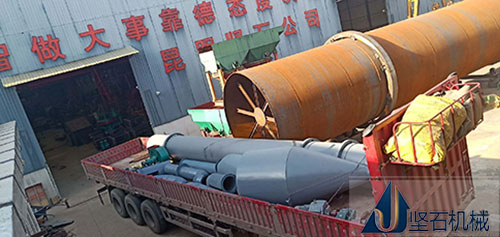 4月23日水泥烘干机发货现场